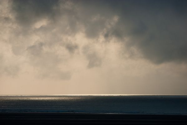 Sunlight and Storm Clouds, Whiteford Point, Gower Peninsula