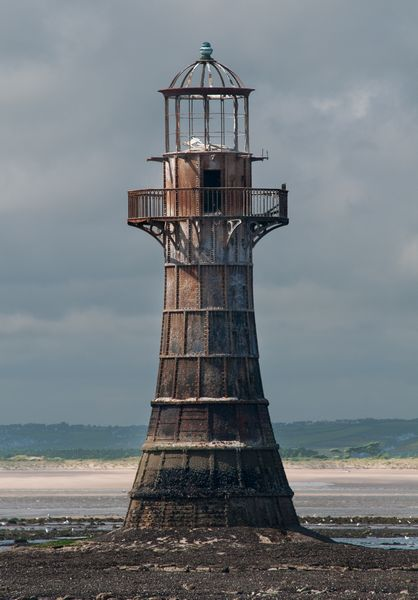 Victorian Lighthouse at Whiteford Point