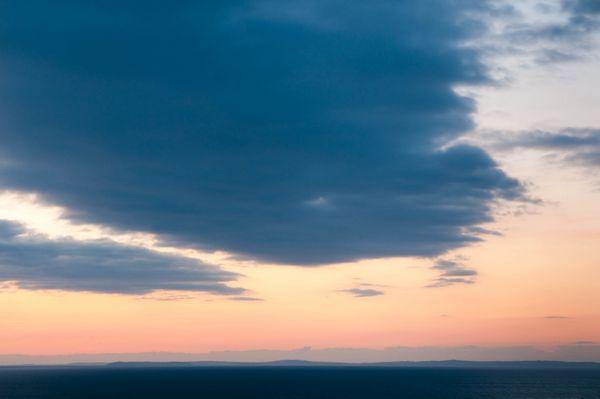 Cloudscape over Pendine Sands