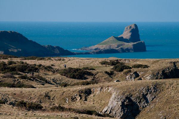 Worm's Head, Rhossili Bay, Gower