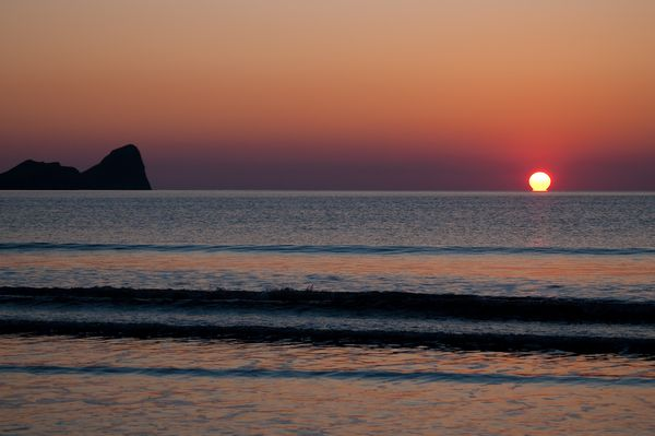 Sunset at Rhossili Bay, Gower