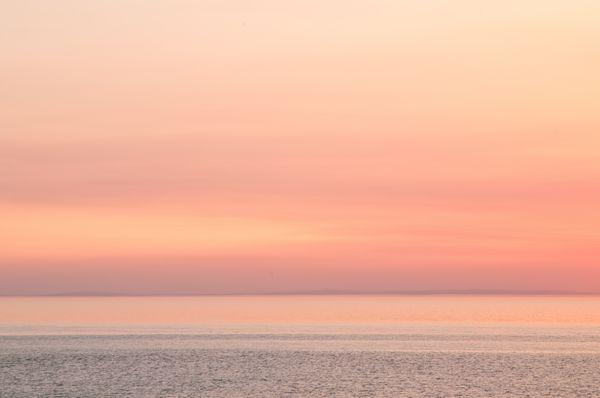 Sunset at Whiteford Sands, Gower Peninsula