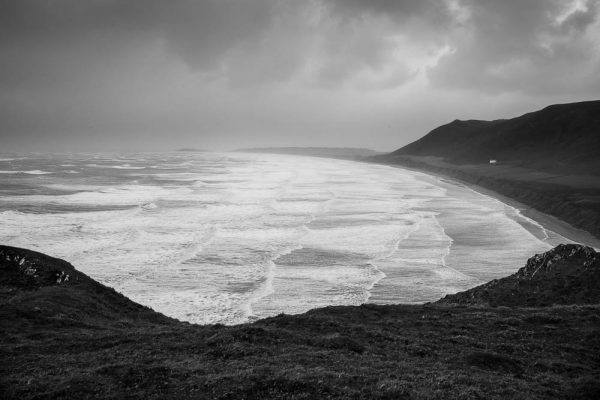 Rhossili Bay from the cliffs, Gower Peninsula