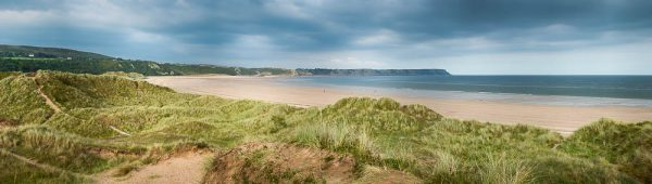 Oxwich Bay20150822Panorama
