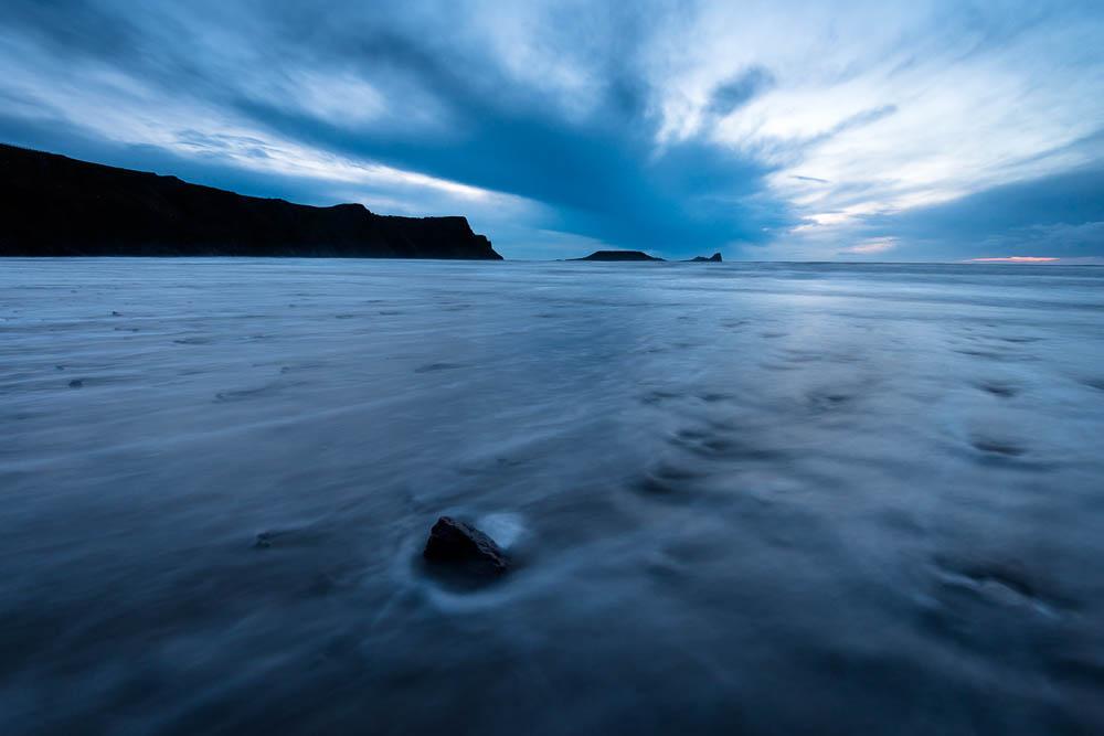 One shot, Three variations – Worms Head,Rhossili Bay, Gower Peninsula