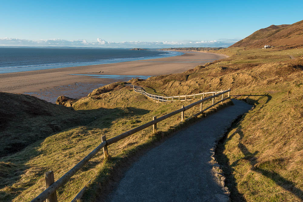 Leaving the Gloom behind, finally some sunshine – Gower Peninsula
